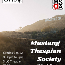 Mustang Thespian Society
