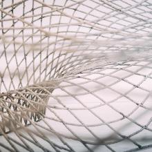 Close up of net